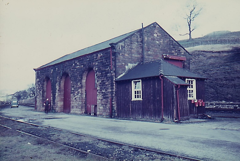 Goods shed from south